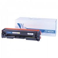 Картридж лазерный NV PRINT (NV-CF402A) для HP M252dw/M252n/M274n/M277dw/M277n7, желтый, ресурс 1400 страниц