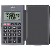 Карманный калькулятор Uniel UK-08H