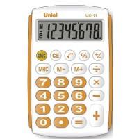 Карманный калькулятор Uniel UK-11 O