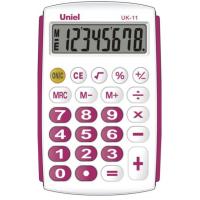 Карманный калькулятор Uniel UK-11R