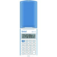 Карманный калькулятор Uniel UM-12 B