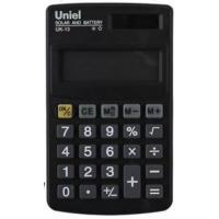 Карманный калькулятор Uniel UK-13 B