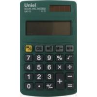 Карманный калькулятор Uniel UK-13 G