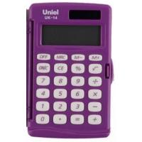 Карманный калькулятор Uniel UK-14 L