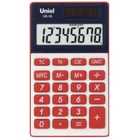 Карманный калькулятор Uniel UK-18 R