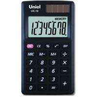 Карманный калькулятор Uniel UK-19