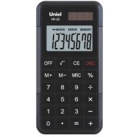Карманный калькулятор Uniel UK-22K