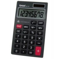 Карманный калькулятор Uniel UK-23