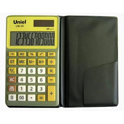 Карманный калькулятор Uniel UM-26YG