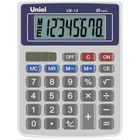 Настольный калькулятор Uniel UB-12 B