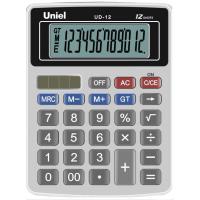 Настольный калькулятор Uniel UD-12 K