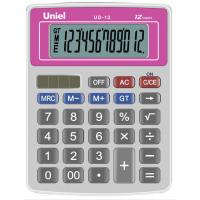 Настольный калькулятор Uniel UD-12 R