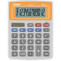 Настольный калькулятор Uniel UD-12 O