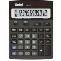 Настольный калькулятор Uniel UD-13