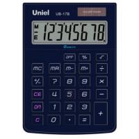 Настольный калькулятор Uniel UB-17 B