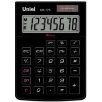 Настольный калькулятор Uniel UB-17 K