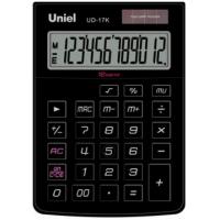 Настольный калькулятор Uniel UD-17 K