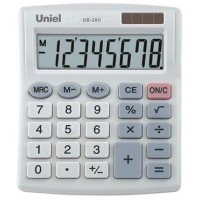 Настольный калькулятор Uniel UB-20II