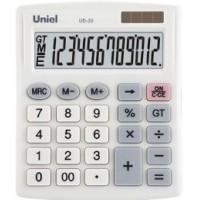 Настольный калькулятор Uniel UD-20II