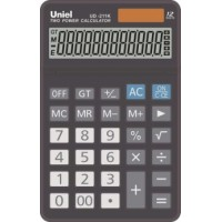 Настольный калькулятор Uniel UD-211 K