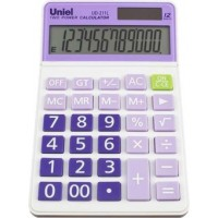 Настольный калькулятор Uniel UD-211 L