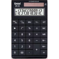 Настольный калькулятор Uniel UD-23 K