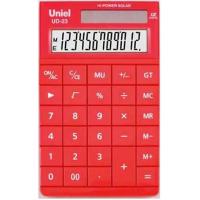 Настольный калькулятор Uniel UD-23 R