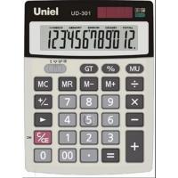 Настольный калькулятор Uniel UD-301