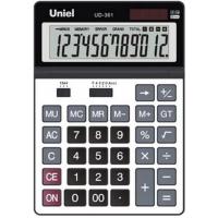 Настольный калькулятор Uniel UD-361