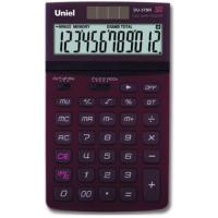 Настольный калькулятор Uniel UD-37 BR/CH