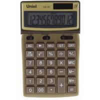 Настольный калькулятор Uniel UD-41GD