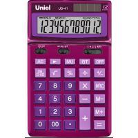Настольный калькулятор Uniel UD-41PN