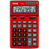 Настольный калькулятор Uniel UD-41 R