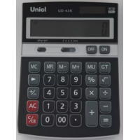 Настольный калькулятор Uniel UD-43K