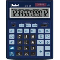 Настольный калькулятор Uniel UD-60