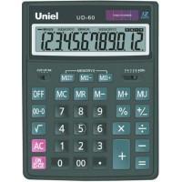 Настольный калькулятор Uniel UD-60 B