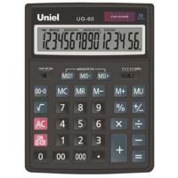 Настольный калькулятор Uniel UG-60