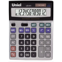 Настольный калькулятор Uniel UD-61