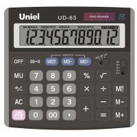 Настольный калькулятор Uniel UD-63