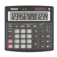 Настольный калькулятор Uniel UF-63