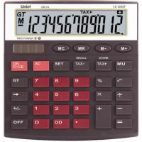 Настольный калькулятор Uniel UD-74 BR