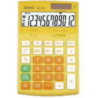 Настольный калькулятор Uniel UD-79 Y