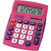 Карманный калькулятор CITIZEN SDC-450 NPKCFS, розовый