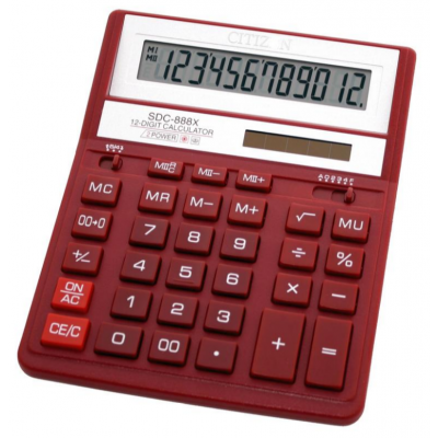 Настольный калькулятор CITIZEN SDC-888XRD