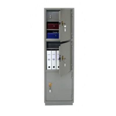 Металлический бухгалтерский шкаф КБС 033