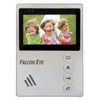 """Видеодомофон FALCON EYE Vista, дисплей 4,3"""" TFT, механические кнопки, белый, 00-00124393"""
