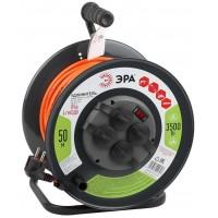 ЭРА Удлинитель силовой ЭРА RMx-4es-3x1.5-50m-IP44