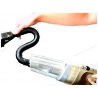 Автомобильный пылесос c 3 насадками и фонариком DanKos; мощный автомобильный пылесос
