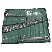 Набор накидных ключей зеленый 6-32 22шт