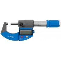 Микрометр ЗУБР Эксперт 0-25 мм (34482-25) серый/голубой с поверкой